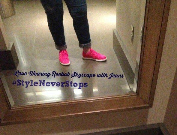 Reebok Skyscape #StyleNeverStops