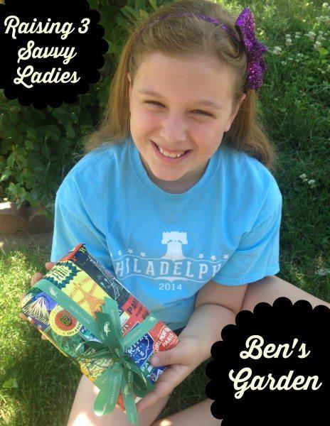 Ben's Garden Raising 3 Savvy  Ladies