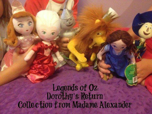 Legends of Oz Dorothy's Return collection