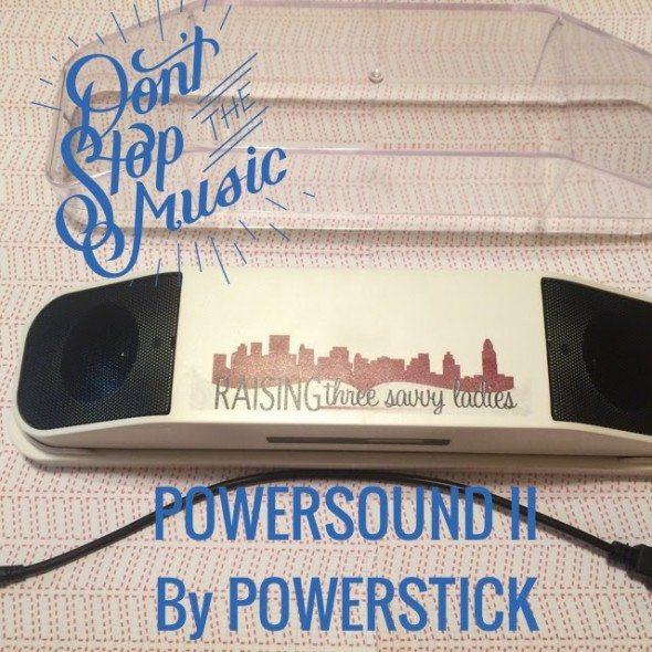 Powersound II Powerstick Giveaway