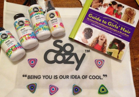 a So Cozy Hairstyling Products