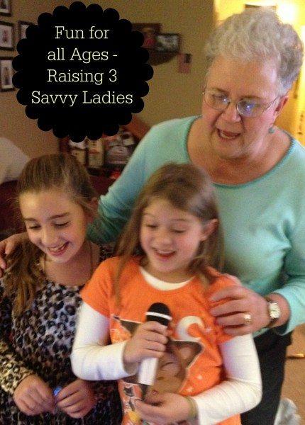Karaoke Raising 3 Savvy Ladies
