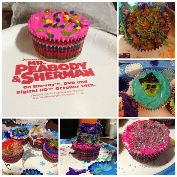 Peabody French Revolution Cupcakes Collage
