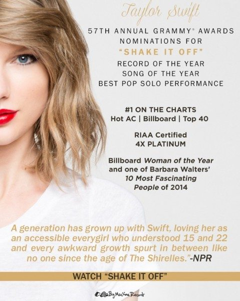 taylor swift grammy