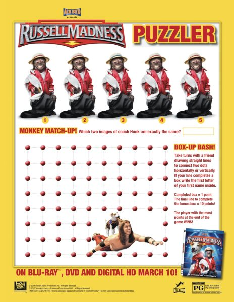 Russell Madness-puzzler