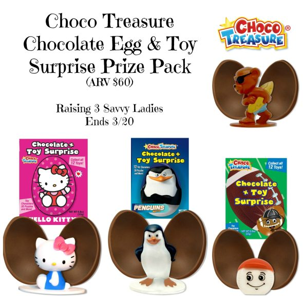 Choco Treasure Collage