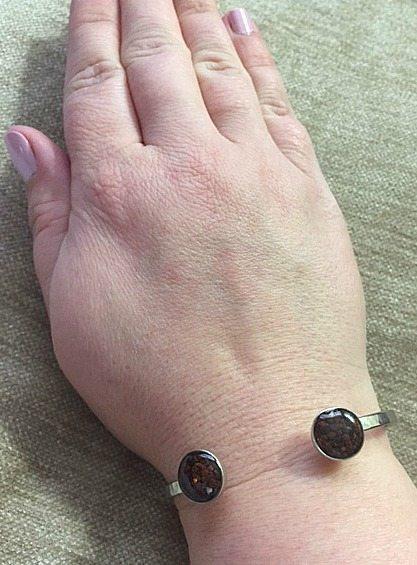 Dune Jewelry Inlet Cuff Silver