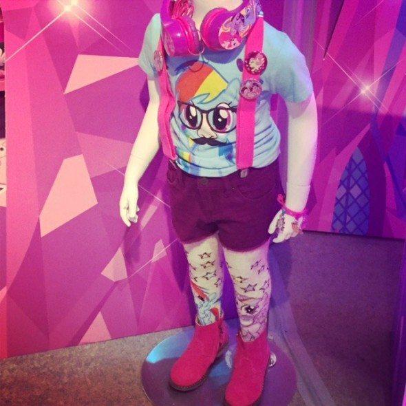 Rainbow Dash My Little Pony Fashion
