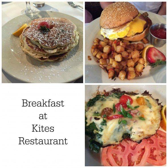 Breakfast Kites Restaurant Collage