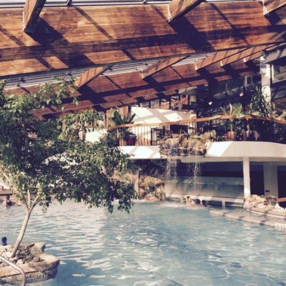 Indoor Pool Minerals Resort
