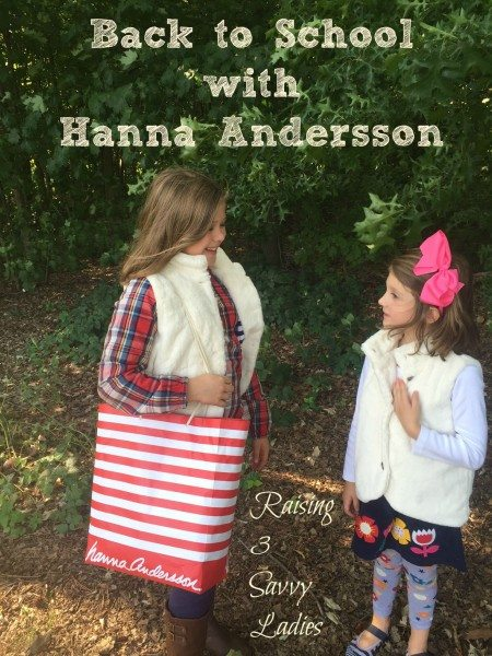 Back to School Hanna Andersson