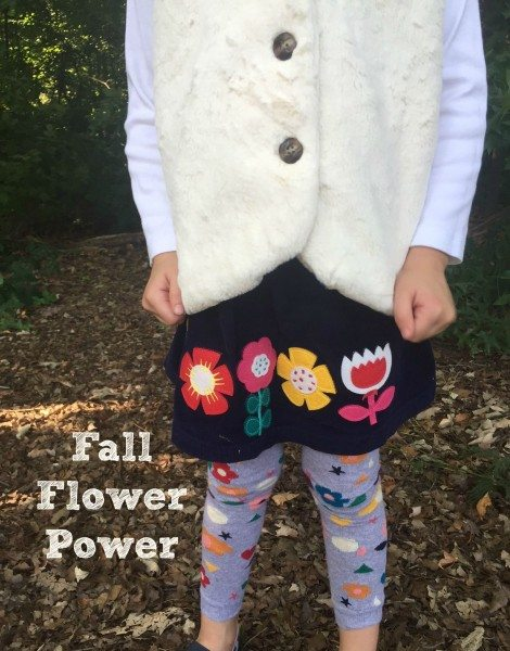 Back to School Hanna Andersson Fall flower power