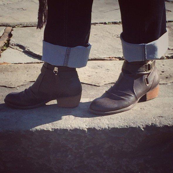 Dr. Scholl booties Famous Footwear