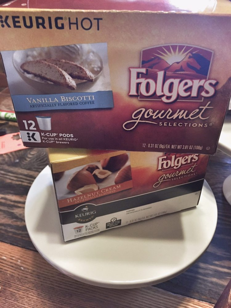 folgers coffee gourmet