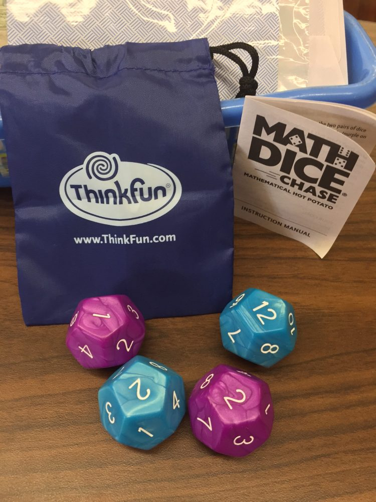 Think Fun Math Dice Game