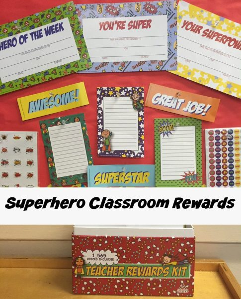Superhero Classroom Rewards