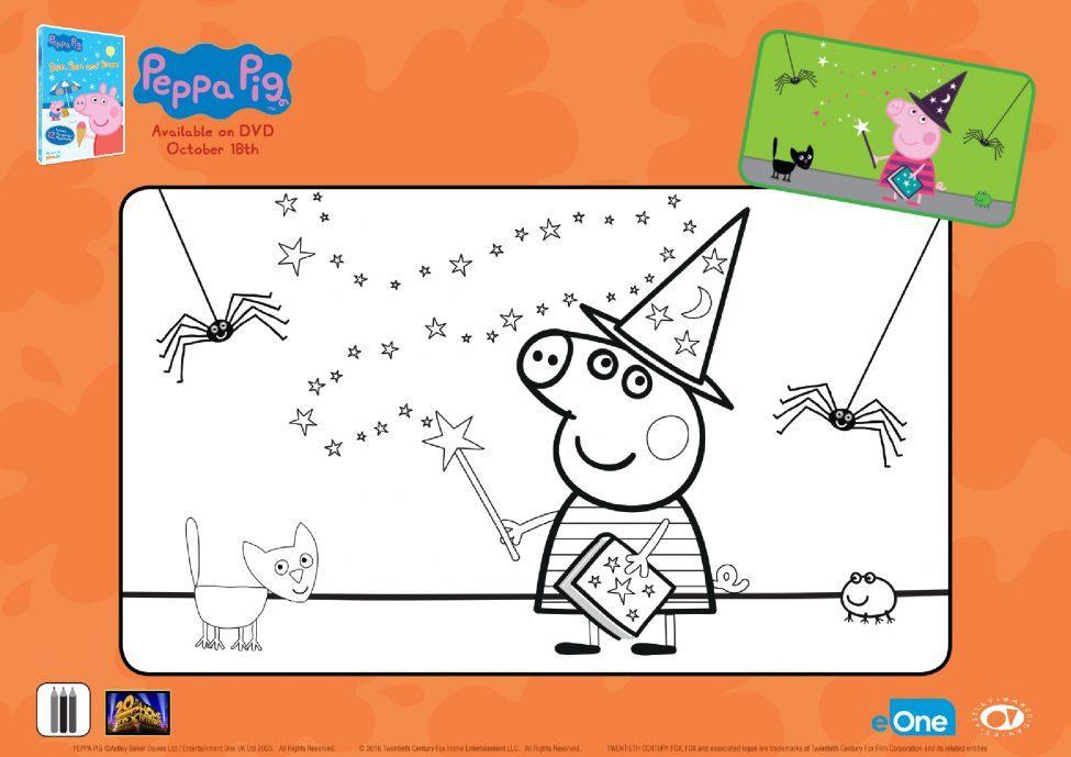 Peppa Pig Halloween Activities