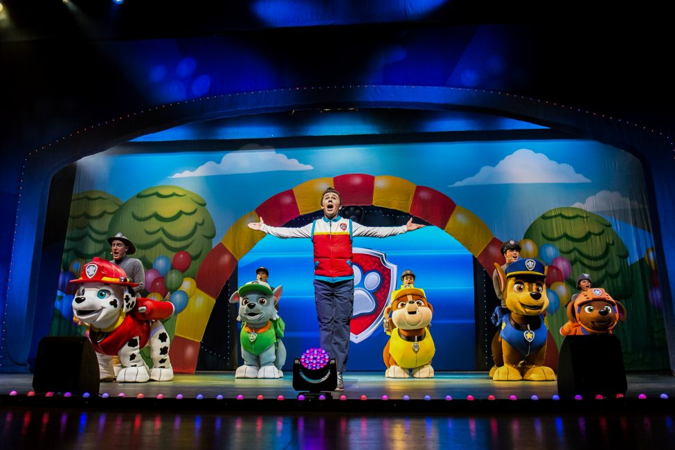 (Photo credit: PAW Patrol Live! photos courtesy of Nickelodeon and VStar Entertainment Group)