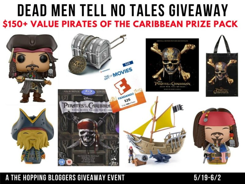 Pirates of the Caribbean- Dead Men Tell No Tales Prize Pack