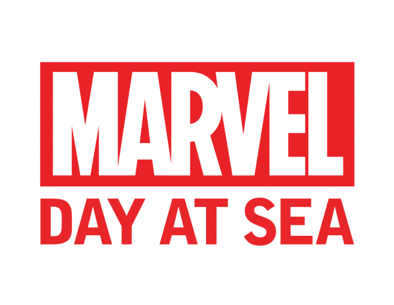Marvel Day at Sea banner