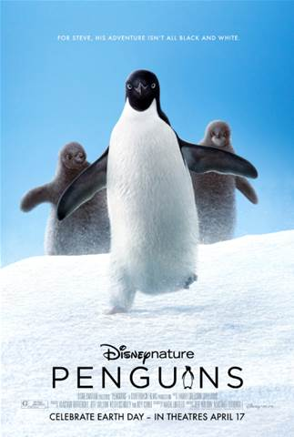 Disneynature Penguins poster.