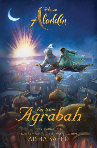Cover of Aladdin Far From Agrabah book.