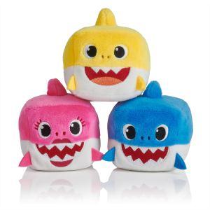Baby shark plushies.