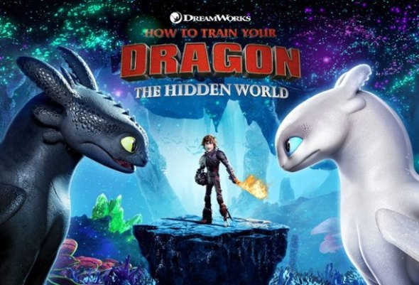 How to Train Your Dragon: The Hidden World poster.