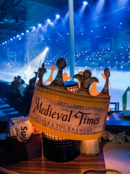 Medieval Times paper crown