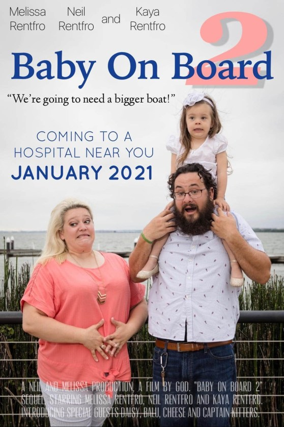 Baby on Board 2! We're expecting another baby Rentfro!