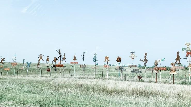 Kansas road display metal works