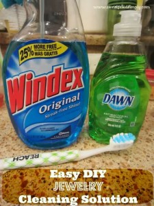 Easy DIY Jewelry Cleaning Solution