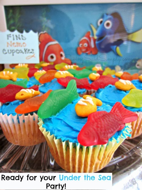 Finding Nemo party food ideas