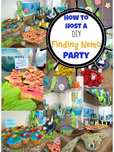How To Host DIY a Finding Nemo Party #DisneySide