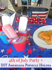 4th of July Party + DIY Popsicle Holder #SummerGoodies