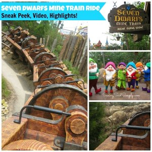 Disney Seven Dwarfs Mine Train Ride – Sneak Peek + Things You Should Know