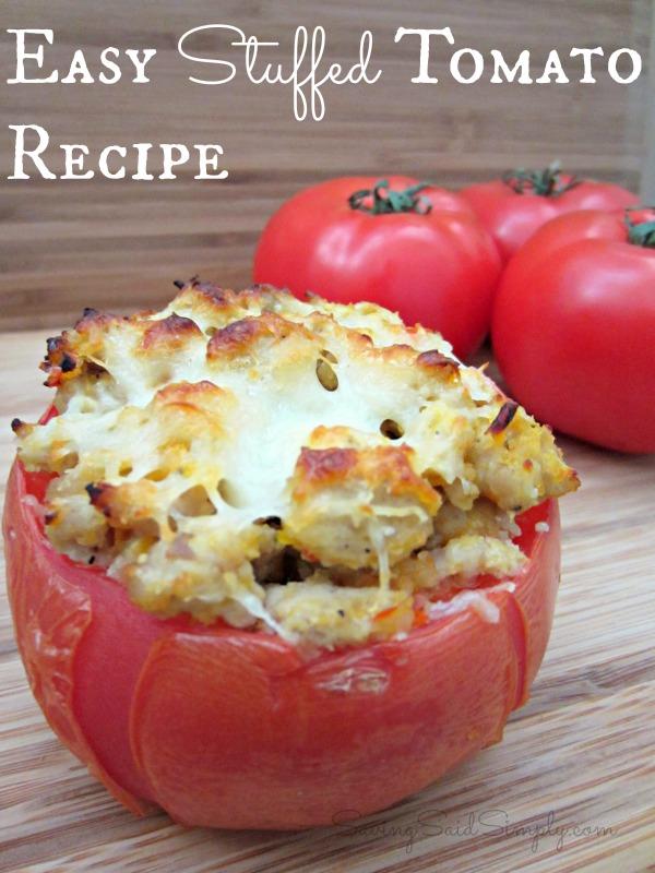 Easy Stiffed Tomato Recipe
