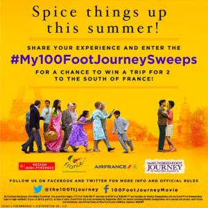 The Hundred-Foot Journey Sweepstakes + Recipe #100FootJourneyEvent