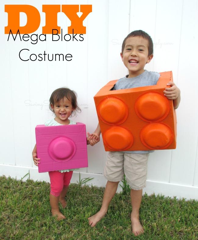 DIY mega bloks Halloween costume