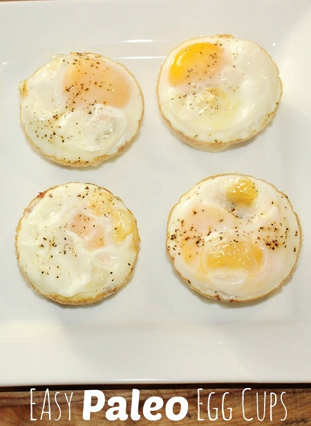 Easy paleo egg cups