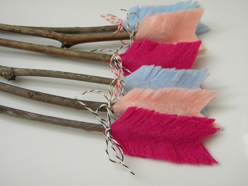 Valentine arrow craft