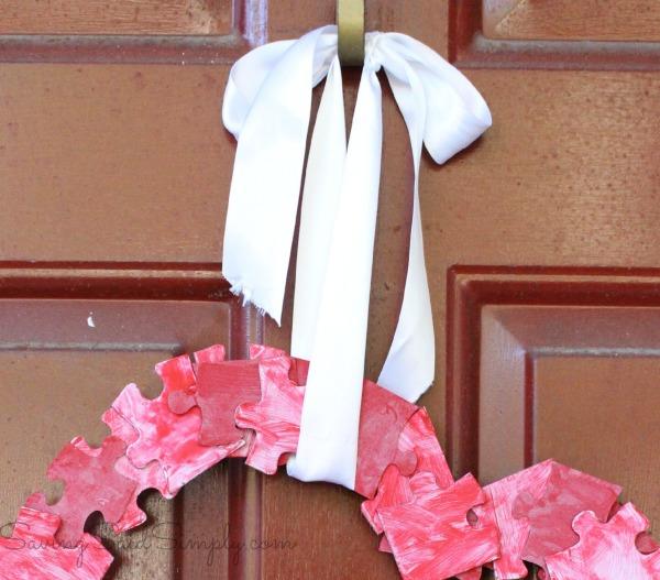 Valentines-day wreath diy