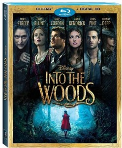 Disney Into The Woods on DVD March 24