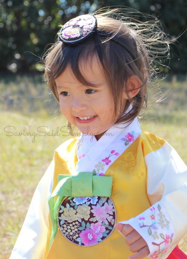 Korean dress photo session