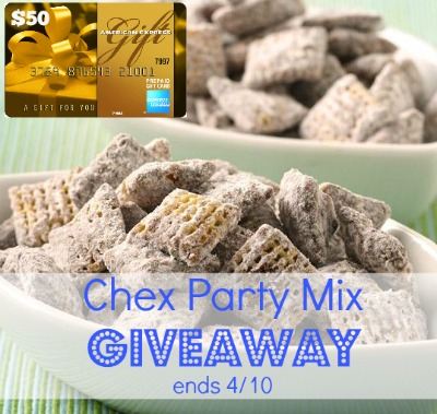 Chex party mix giveaway