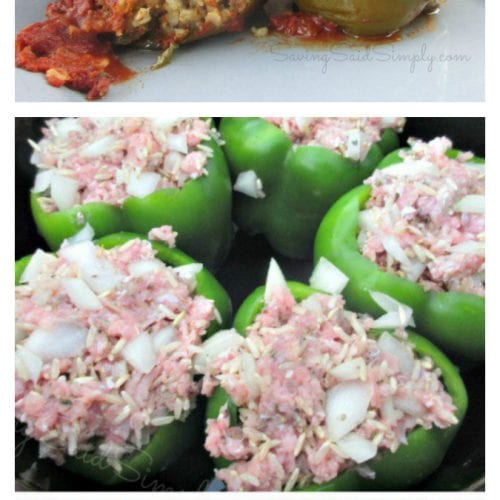 Crockpot stuffed peppers pinterest