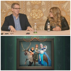 Why Chris Buck and Jennifer Lee Won't Let It Go | Frozen Fever Interview #CinderellaEvent