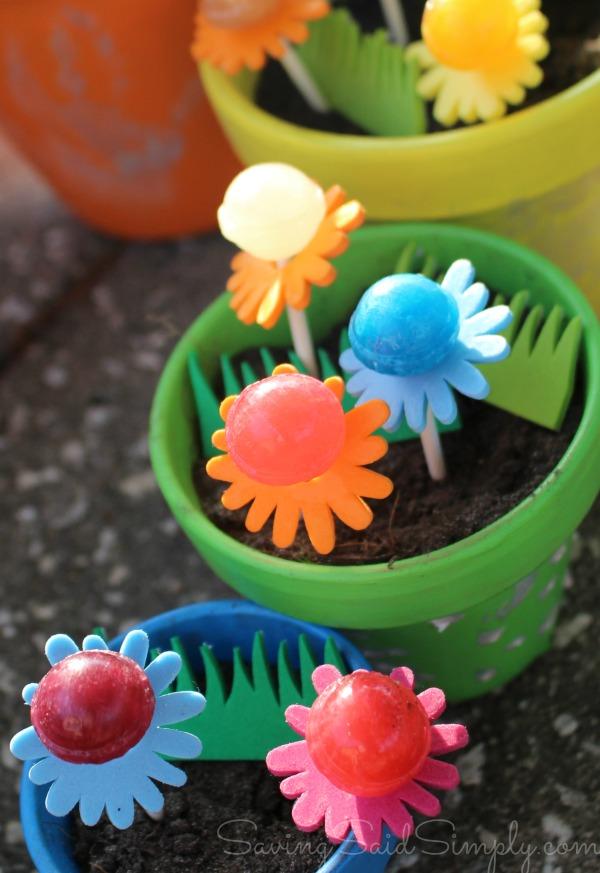 Kids diy spring garden craft