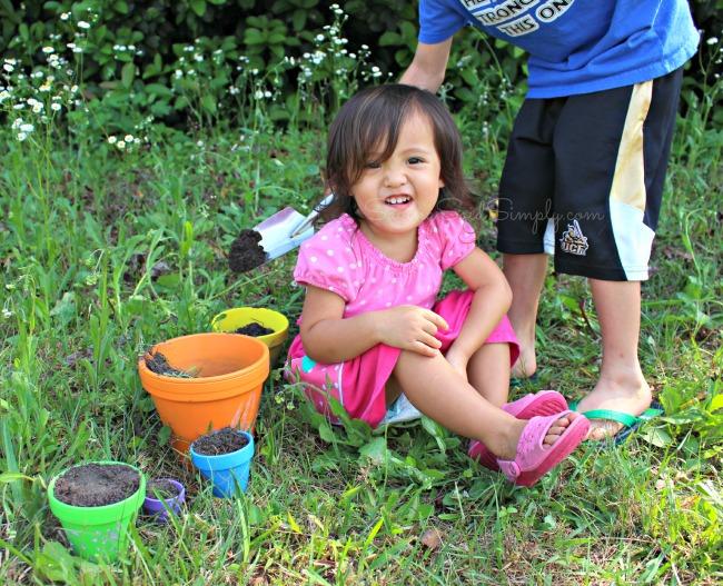 Lods garden activity