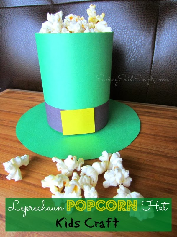 Easy St Patrick S Day Kids Craft Shamrock Garland